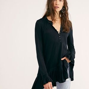 NWT FREE PEOPLE Your Girl Tunic | S